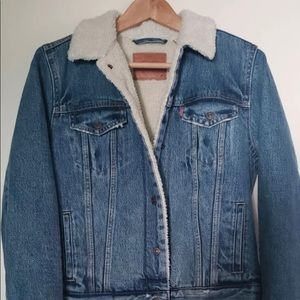 Levi Sherpa jacket